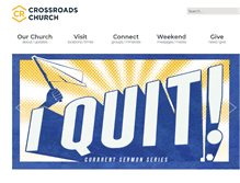 Tablet Preview of crossroadschurch.cc